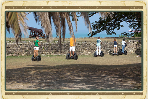 Historic Fort & Beach Tour on Segway from the East Coast