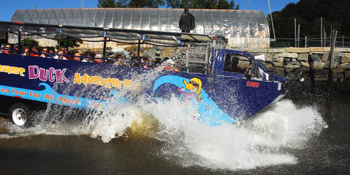 Amphibious �Duck� Tour of Portland